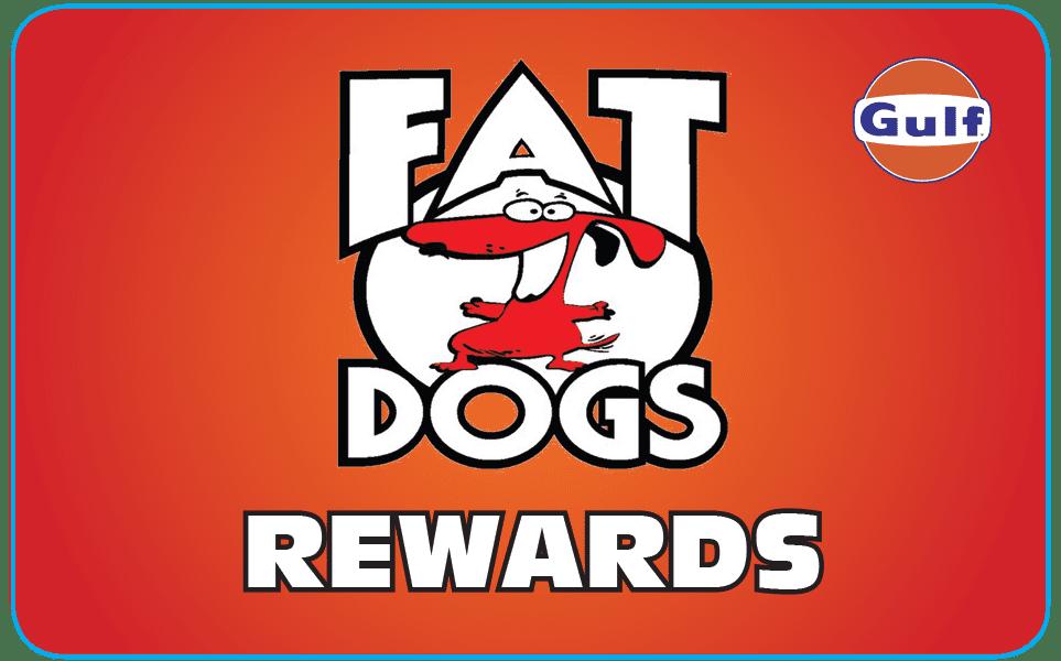 Fat Dogs Rewards Card