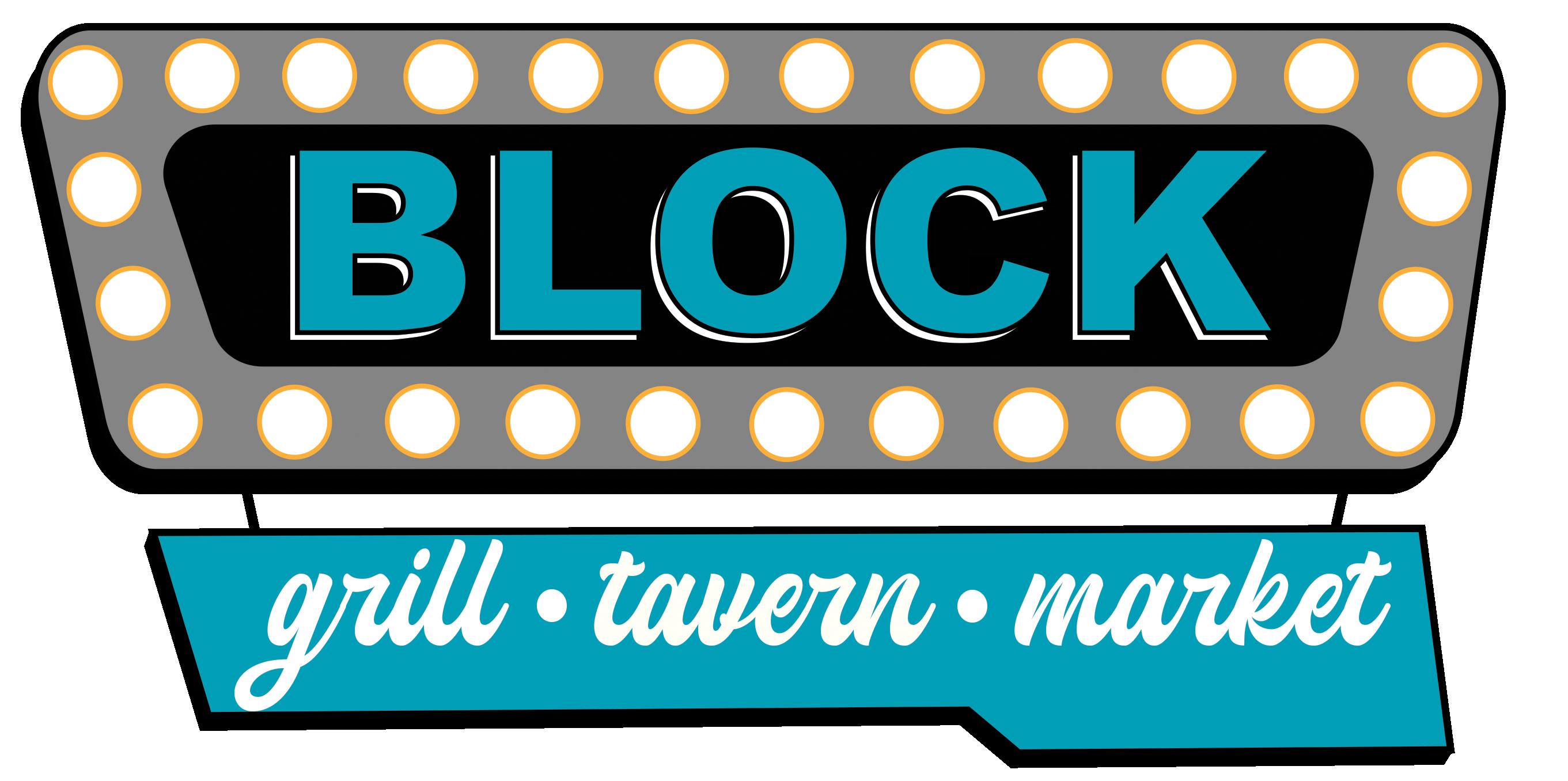 Block Grill Tavern & Market Logo North Platte Restaurant